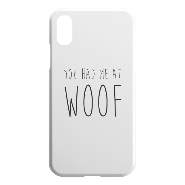 You Had Me At Woof iPhone Case-iPhone XR-Woofingtons