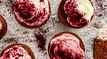 BEETROOT & RICOTTA CUPCAKES