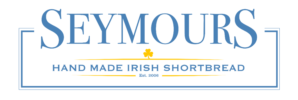Seymours Irish Shortbread Logo Blue