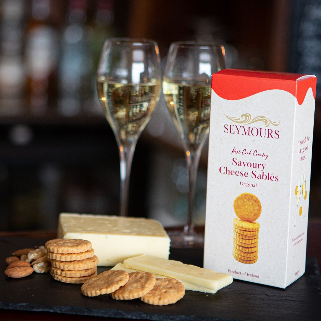 Original Irish Cheese Biscuits by Seymours Main