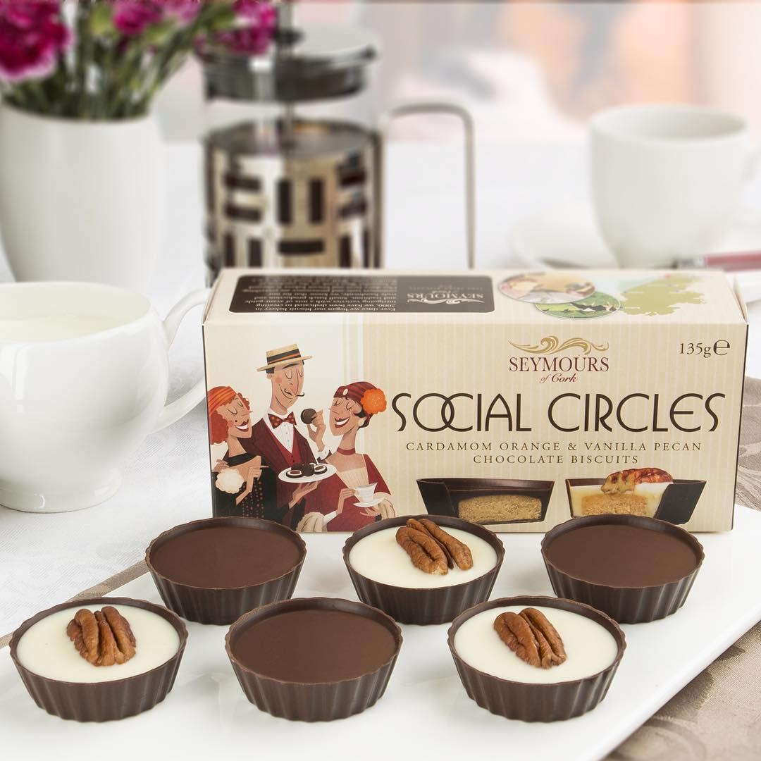 Social Circles Chocolate Cookies