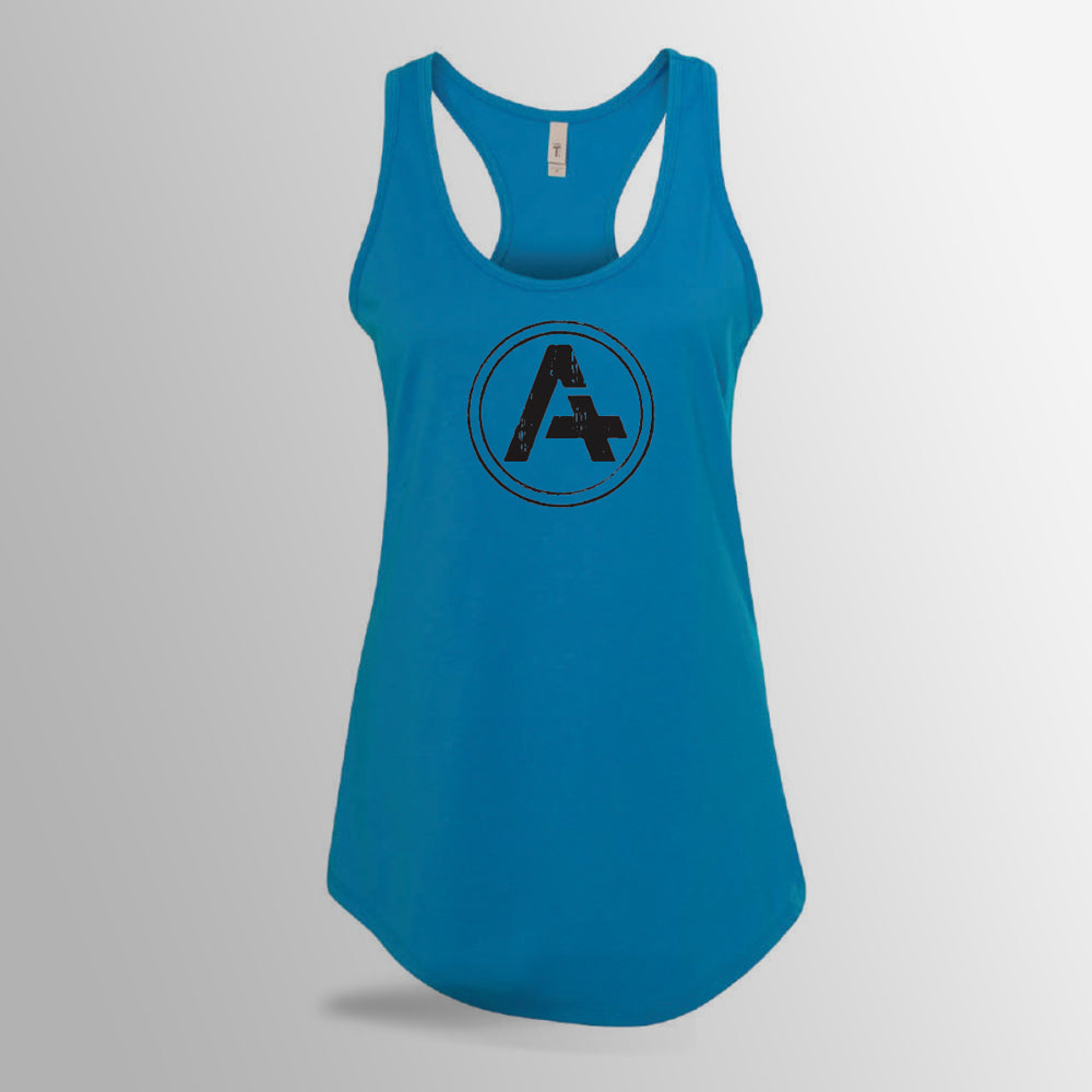 Women's Blue Tank Top Razorback