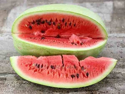 100 Seeds Charleston Grey red Watermelon Heirloom beautiful pale green melon