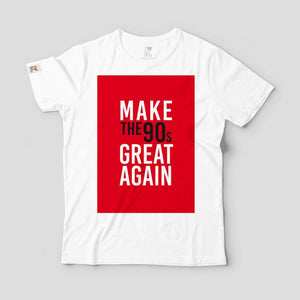 T shirt 90s Great Again _ Red