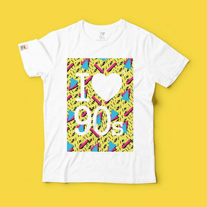 T shirt Special 90s Theme _ Fucsia