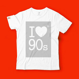 T shirt 90s Colors _ Grey