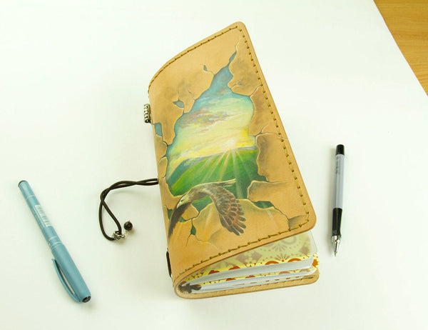 Rising Sun Hand Painted Journal