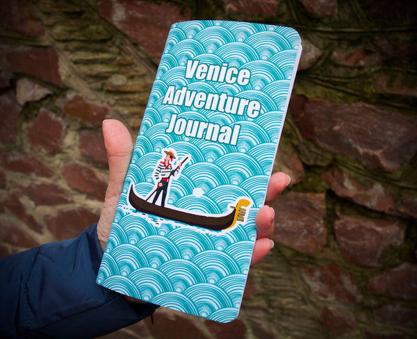 Regular Size Travelers Notebook Insert - Venice Notebook - Travel Diary - Travel to Venice Travel to Italy Tourist Gift - 64 Pages TN Refill