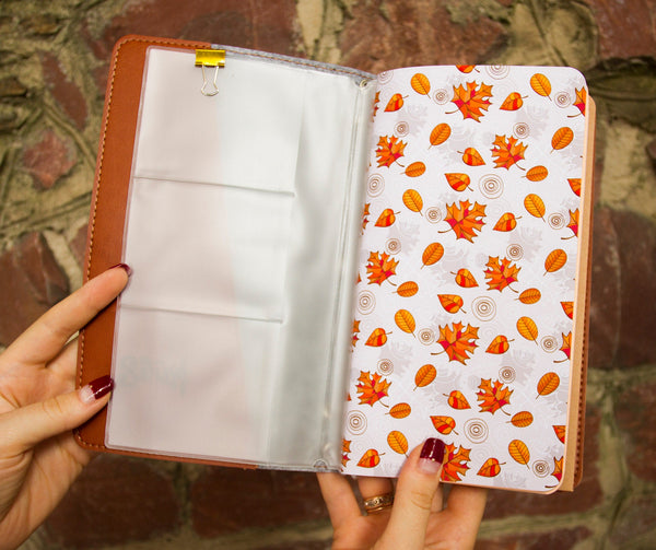 Sleeping Fox Faux Leather Journal