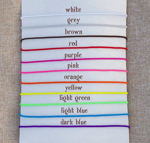 Elastics Colors Addon for Fauxdori  Full-size Travelers Notebook Do Not Buy This WIthout Your  Notepad
