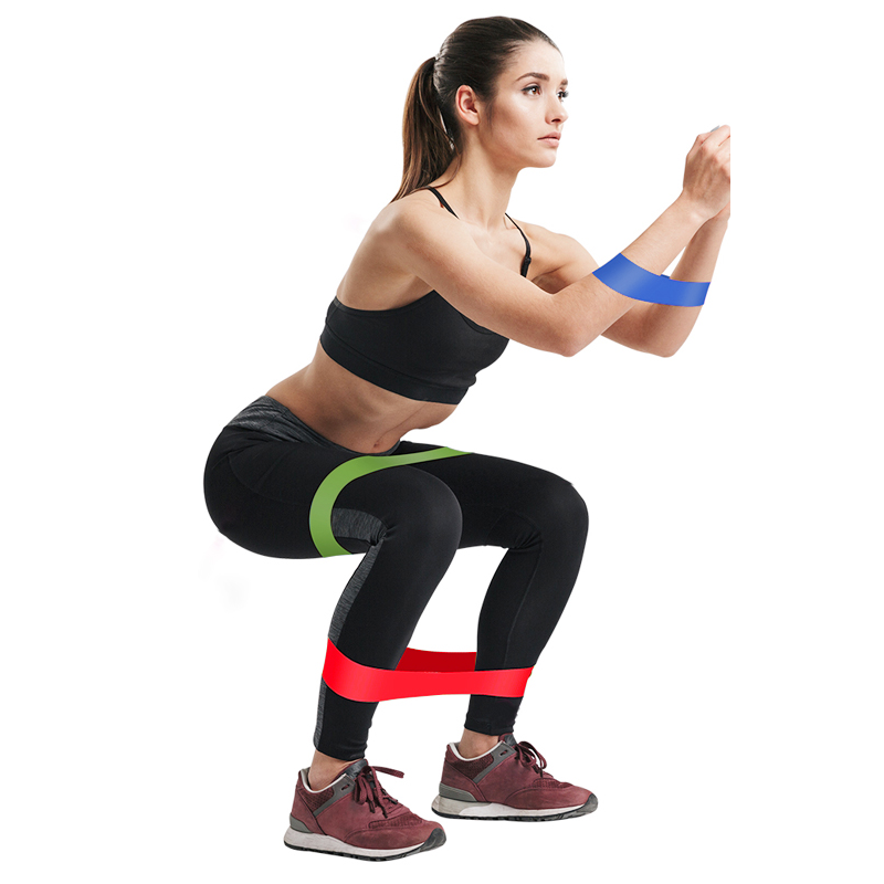 1.5m Yoga and Pilates Stretch Resistance Bands