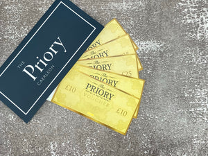 The Priory Caerleon Gift Voucher £25