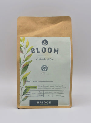 Bridge Coffee Roasters - Bloom (ethical whole bean coffee)