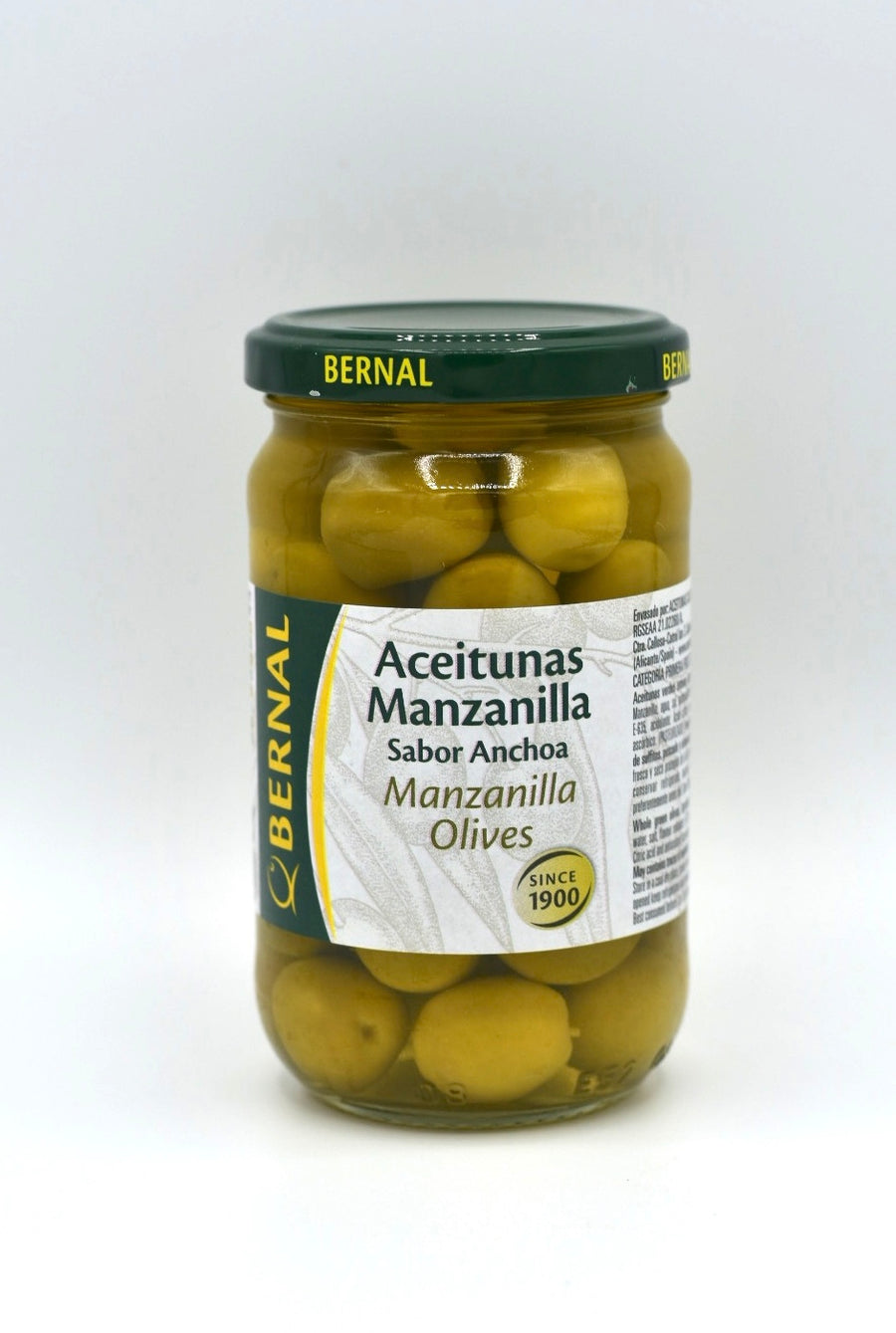 Bernal Manzanilla Olives Jar 180g