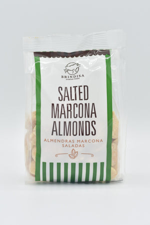 Salted Marcona almonds, Brindisa