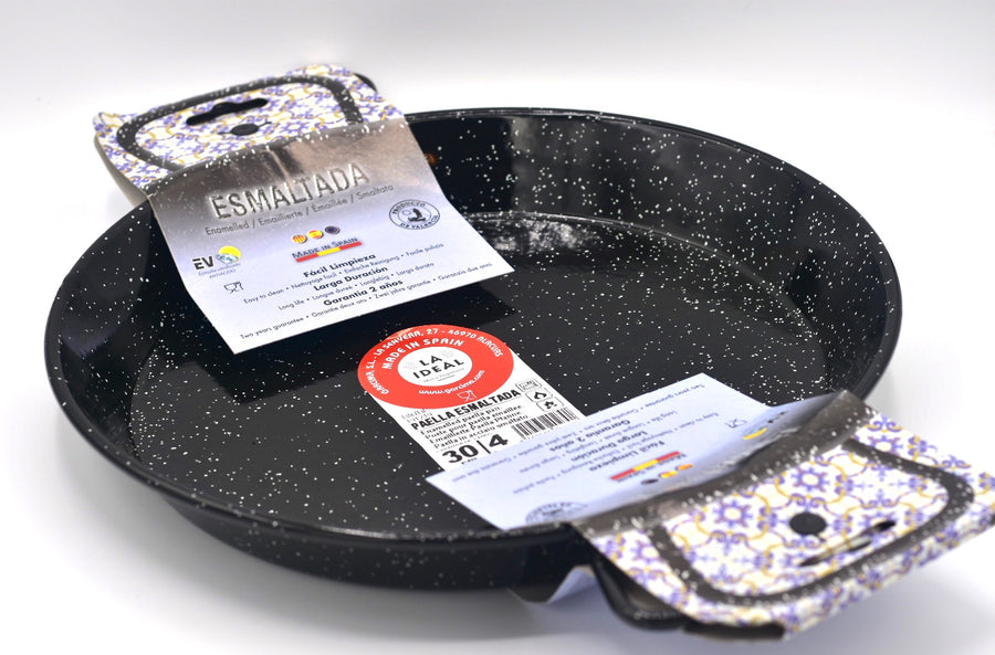 Enamelled paella pan (4 persons), Esmatalda