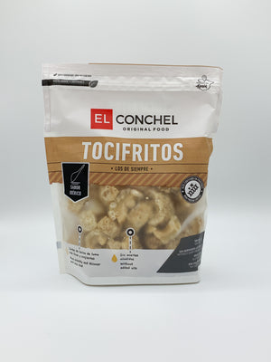 Pork scratchings, El conchel tocifritos