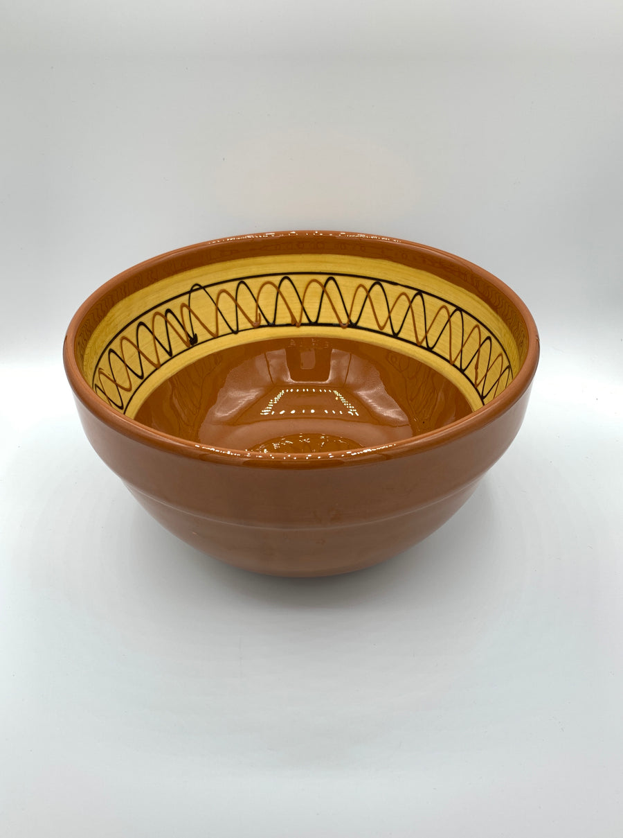 Hand painted bowl, Hermanos Vinagre