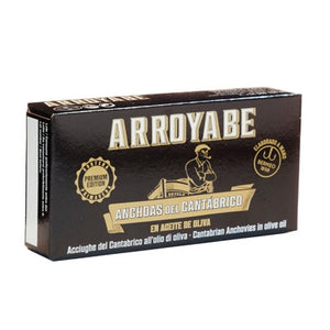 Arroyabe Cantabrian Anchovy Fillets 50g