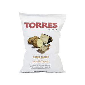 Torres Cured Cheese Potato Chips 150g