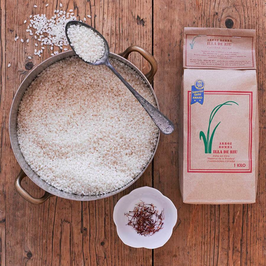 Single Estate Bomba Paella Rice 1kg