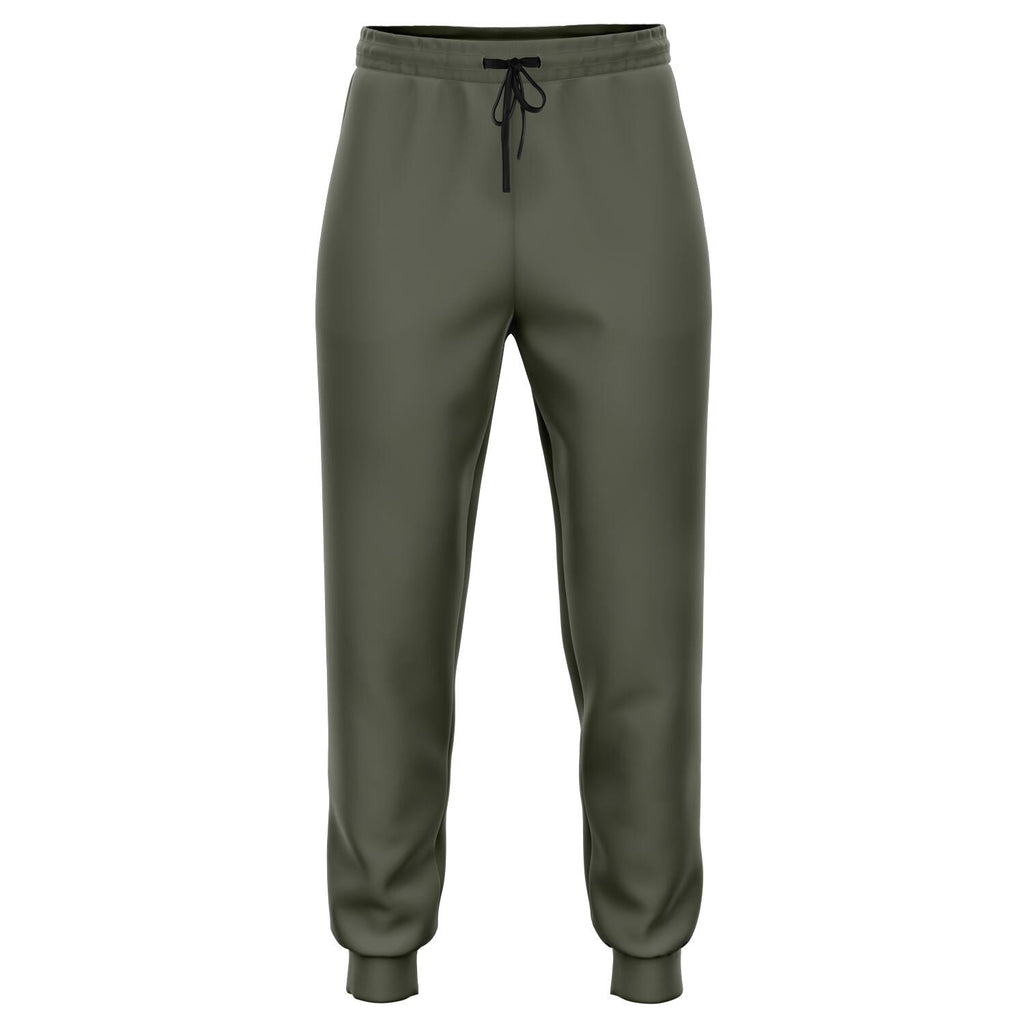Olive Green Athletic Joggers