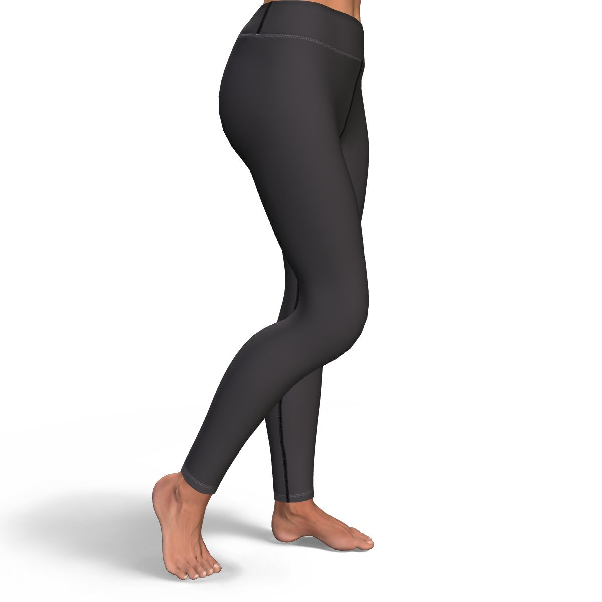Essential Charcoal Gray Yoga Pants