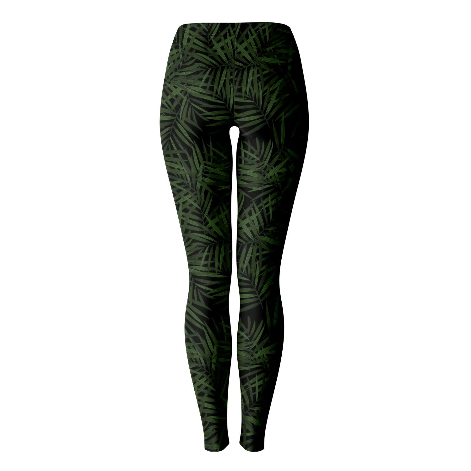 Palm Leaf Print Leggings