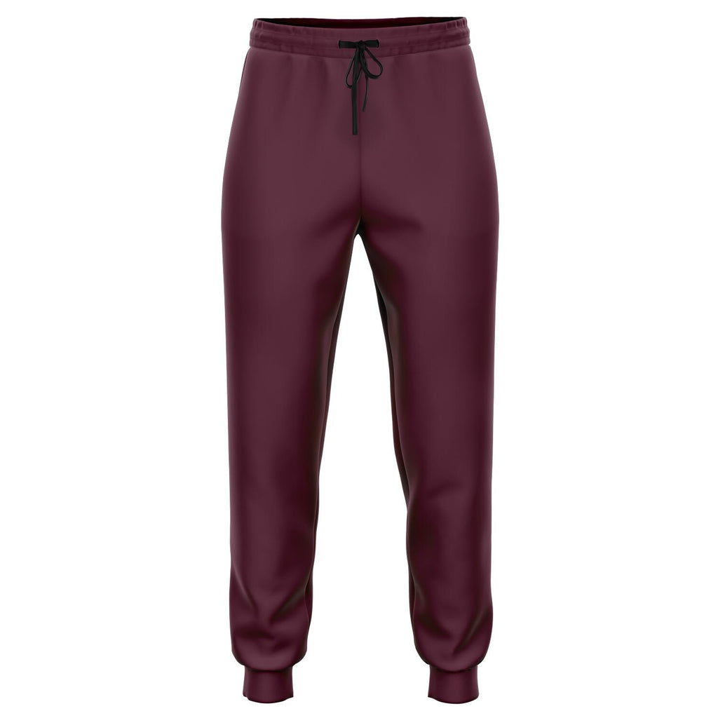 Berry Red Athletic Joggers
