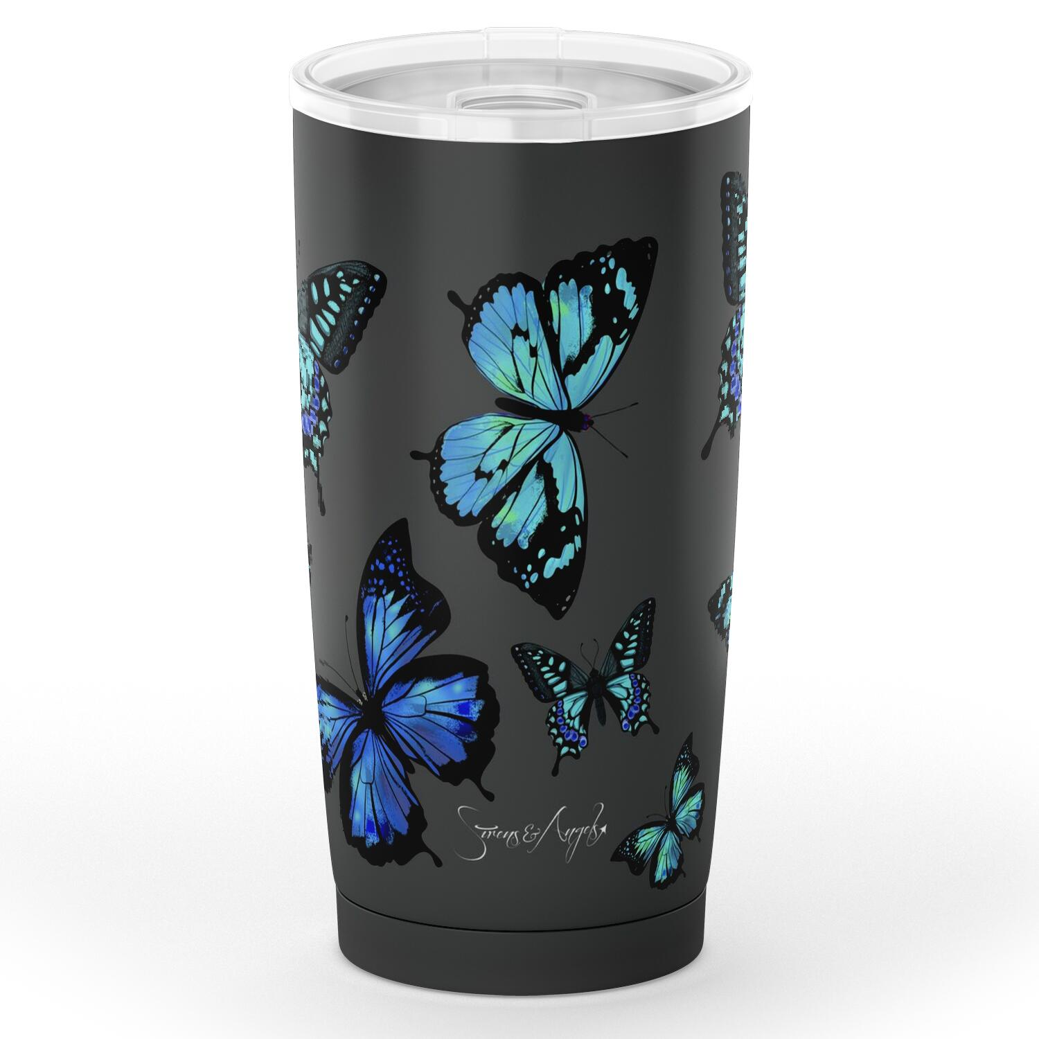 Butterfly Print Tumbler - Limited Edition