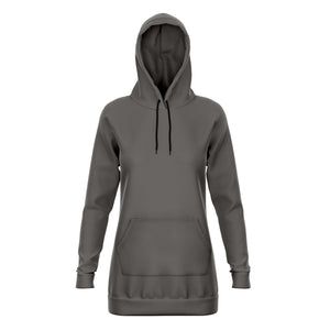 Mink Longline Athletic Fitted Hoodie