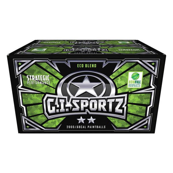 G.I. Sportz 2-STAR Paintballs - 2000ct
