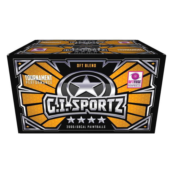 G.I. Sportz 4-STAR Paintballs - 2000ct