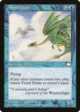 Timid Drake [Weatherlight] | LINEBREAKERS CA