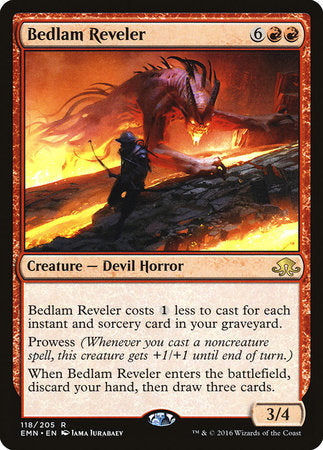 Bedlam Reveler [Eldritch Moon] | LINEBREAKERS CA