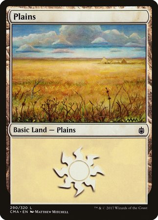Plains (290) [Commander Anthology] | LINEBREAKERS CA
