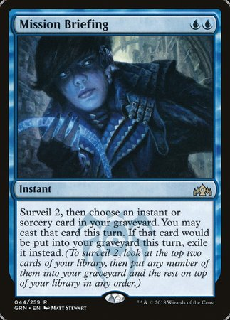 Mission Briefing [Guilds of Ravnica] | LINEBREAKERS CA