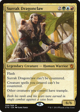 Surrak Dragonclaw [Khans of Tarkir] | LINEBREAKERS CA