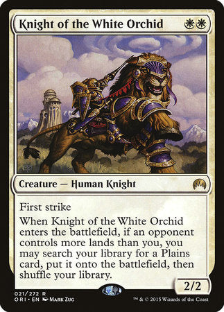 Knight of the White Orchid [Magic Origins] | LINEBREAKERS CA