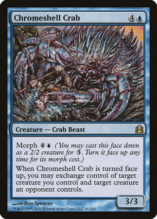 Chromeshell Crab [Commander 2011] | LINEBREAKERS CA