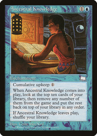 Ancestral Knowledge [Weatherlight] | LINEBREAKERS CA
