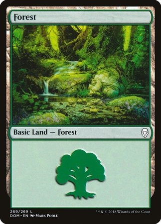 Forest (269) [Dominaria] | LINEBREAKERS CA