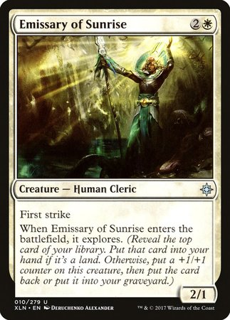 Emissary of Sunrise [Ixalan] | LINEBREAKERS CA