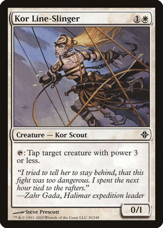 Kor Line-Slinger [Rise of the Eldrazi] | LINEBREAKERS CA