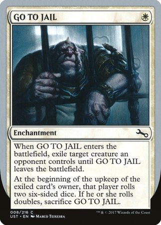 GO TO JAIL [Unstable] | LINEBREAKERS CA