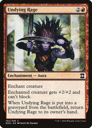 Undying Rage [Eternal Masters] | LINEBREAKERS CA