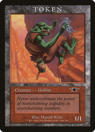 Goblin Token (Legions) [Magic Player Rewards 2003] | LINEBREAKERS CA