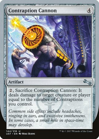 Contraption Cannon [Unstable] | LINEBREAKERS CA