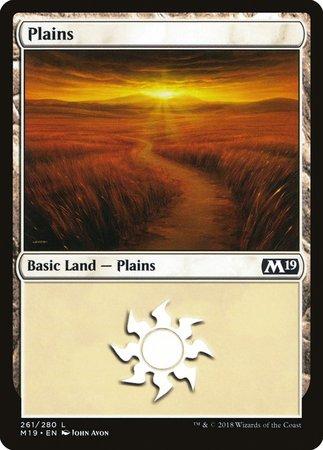 Plains (261) [Core Set 2019] | LINEBREAKERS CA