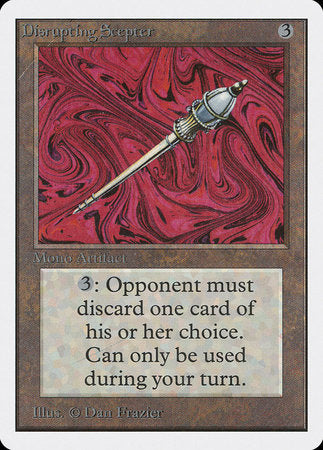 Disrupting Scepter [Unlimited Edition] | LINEBREAKERS CA